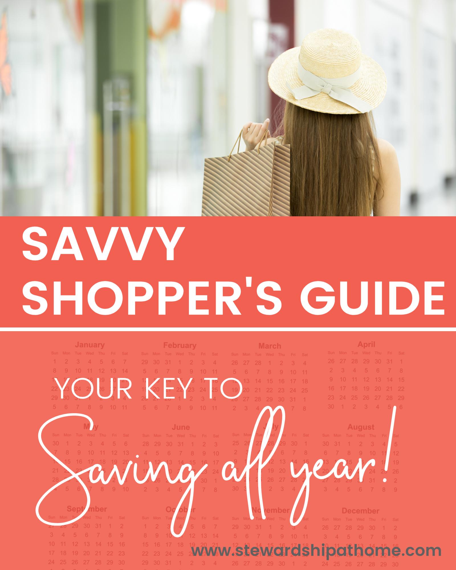 Savvy Shopper's Guide