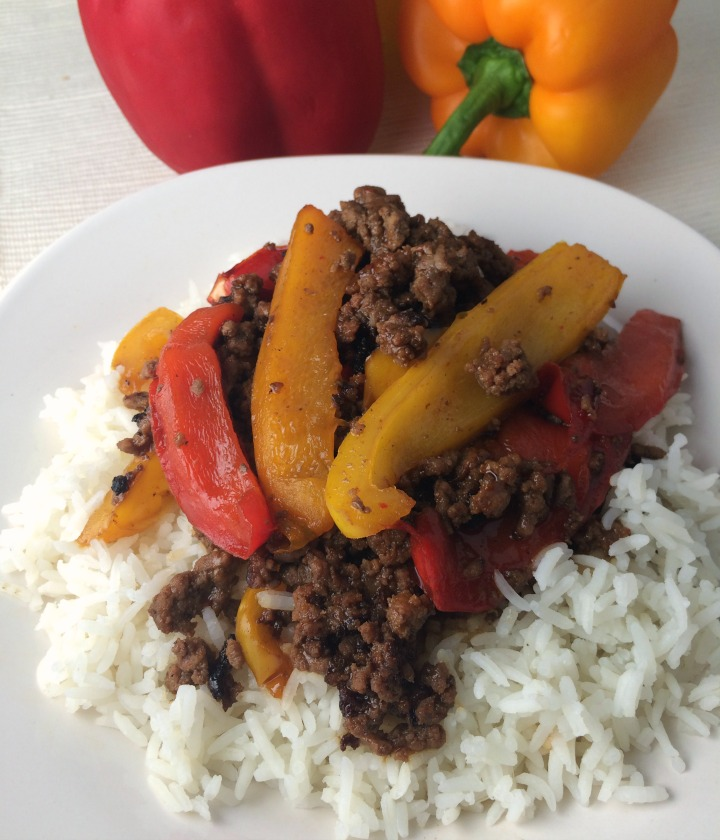 Mongolian Beef and Peppers Recipe