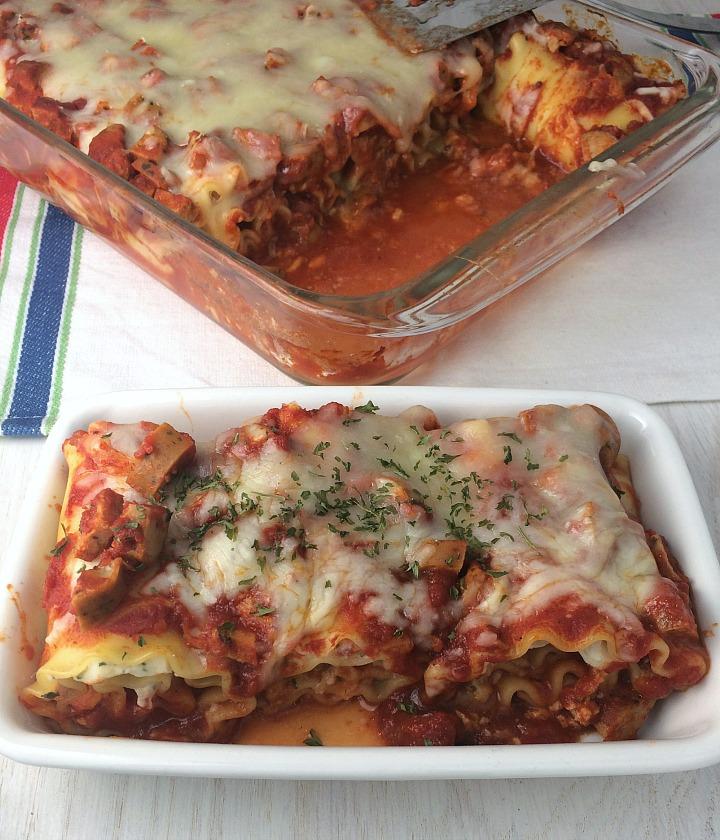 Loaded Lasagna Roll Ups