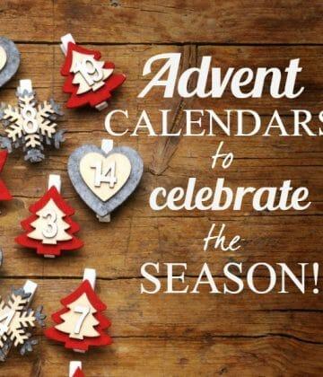 Advent Calendars to Celebrate Christmas